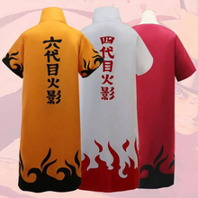 Cape de Cosplay Anime Naruto, uniforme de Minato de quatrième Yondaime hodge Namikaze, Costume dhalloween pour hommes et garçons