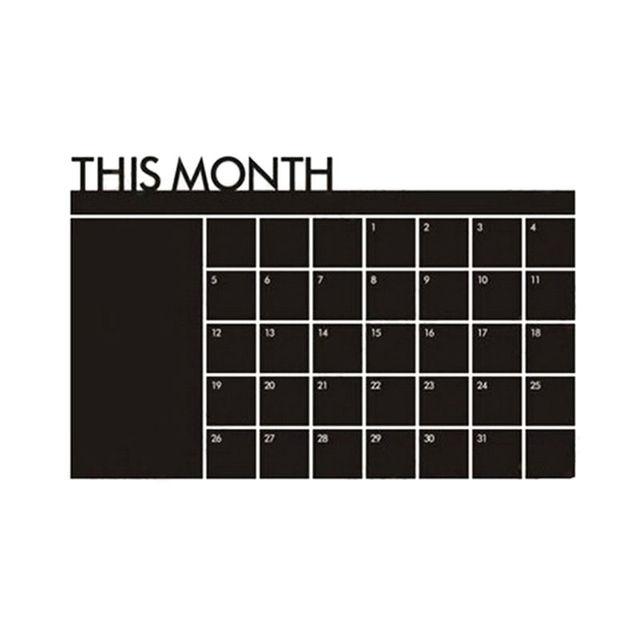 Monthly Chalkboard 60cm x 92cm 8