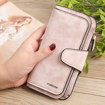 Jisoncase Women Wallet Coin Purse PU Leather Women Wallet Purse Wallet Female Card Holder Long Lady Clutch purse Wallets กระเป๋า ตังค์ สไตล์ เกาหลี