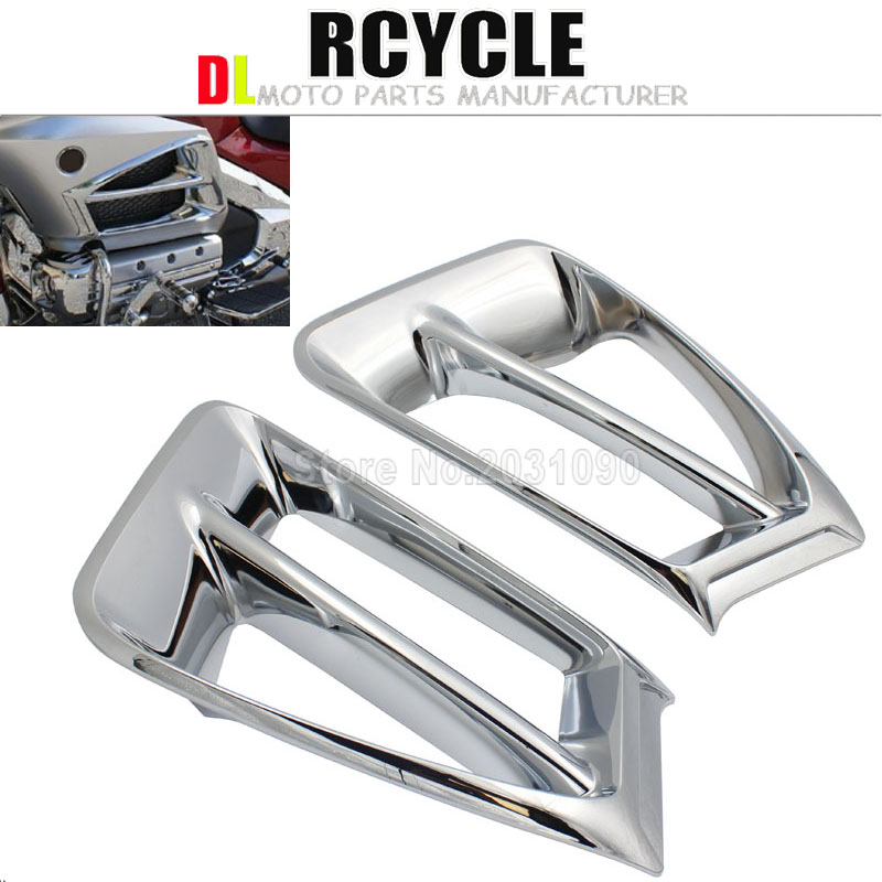 Goldwing Chrome Parts For Honda Gold Wing GL1800 2012 2013 2014 2015 2016 Front Ventilation grille