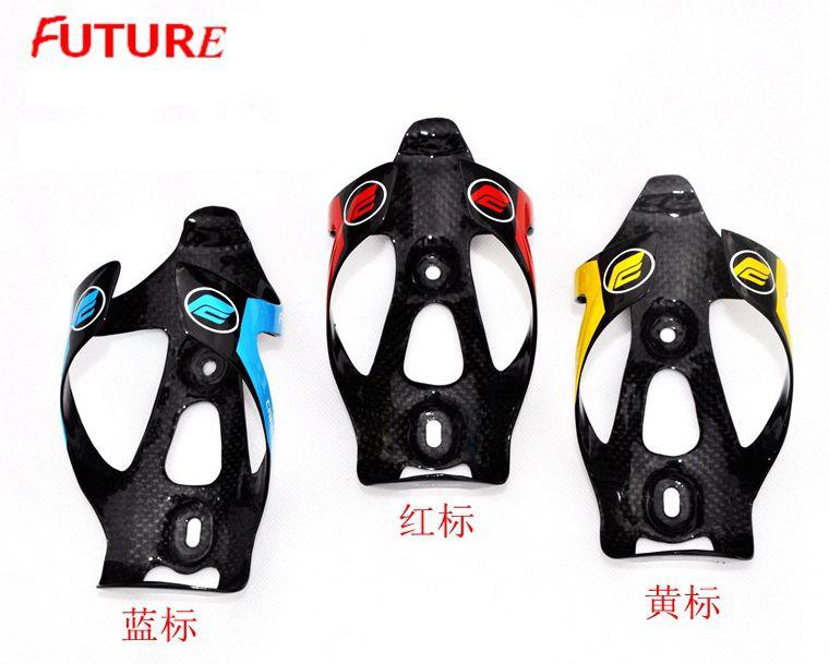 2 pieces lot hot sale FUTURE full carbon fibre bottle cage mtb road bike bottle holder