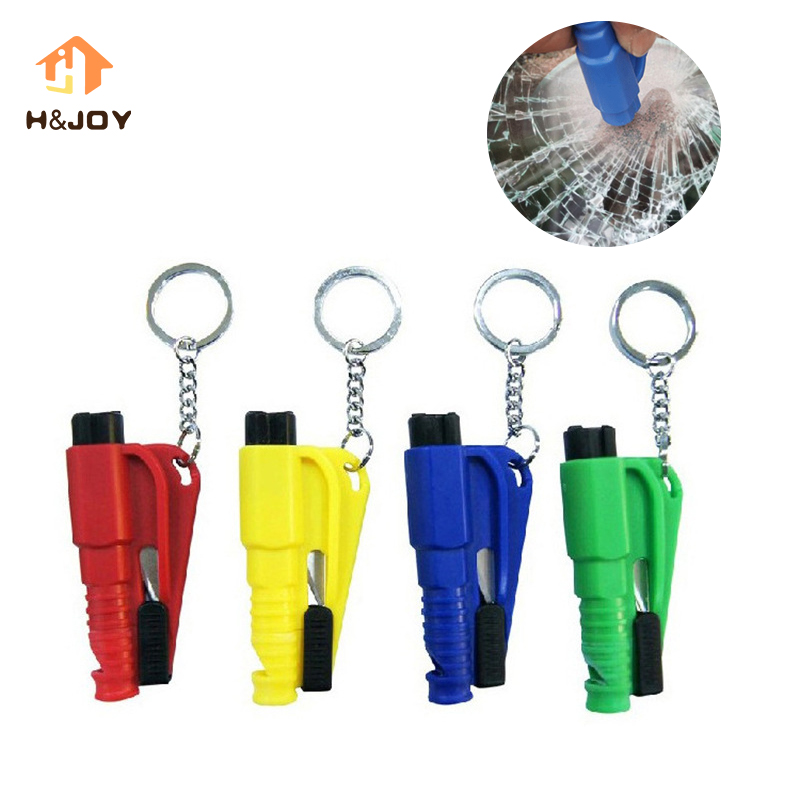 3 In 1 Mini Car Safety Hammer Auto Car Window Glass Breaker Seat Belt Cutter Car Life-saving Escape Rescue You Emergency Tool