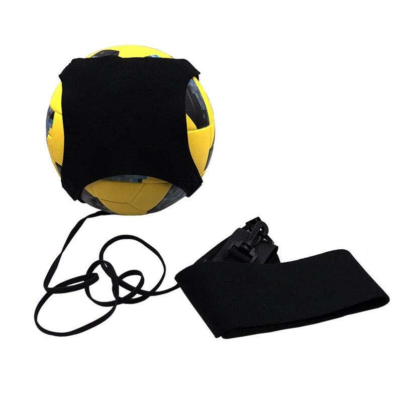 Football Kick Trainer Waist Belt Student Kids Portable Elastic Adjustable Soccer Control Solo Training Strap
