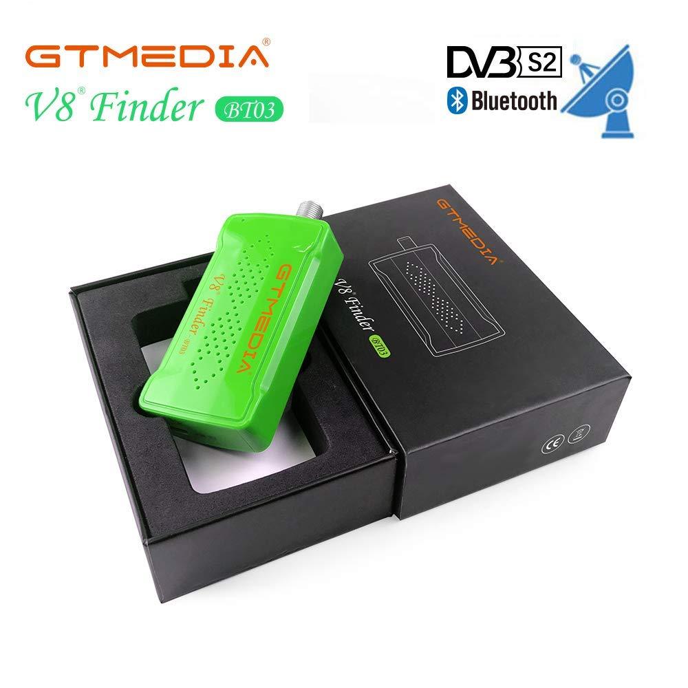 GTMEDIA Satellite V8 Finder BT03 For Freesat V7 Hd Satellite Finder Satellite Signal Finder Connect Your Phone Through Bluetooth