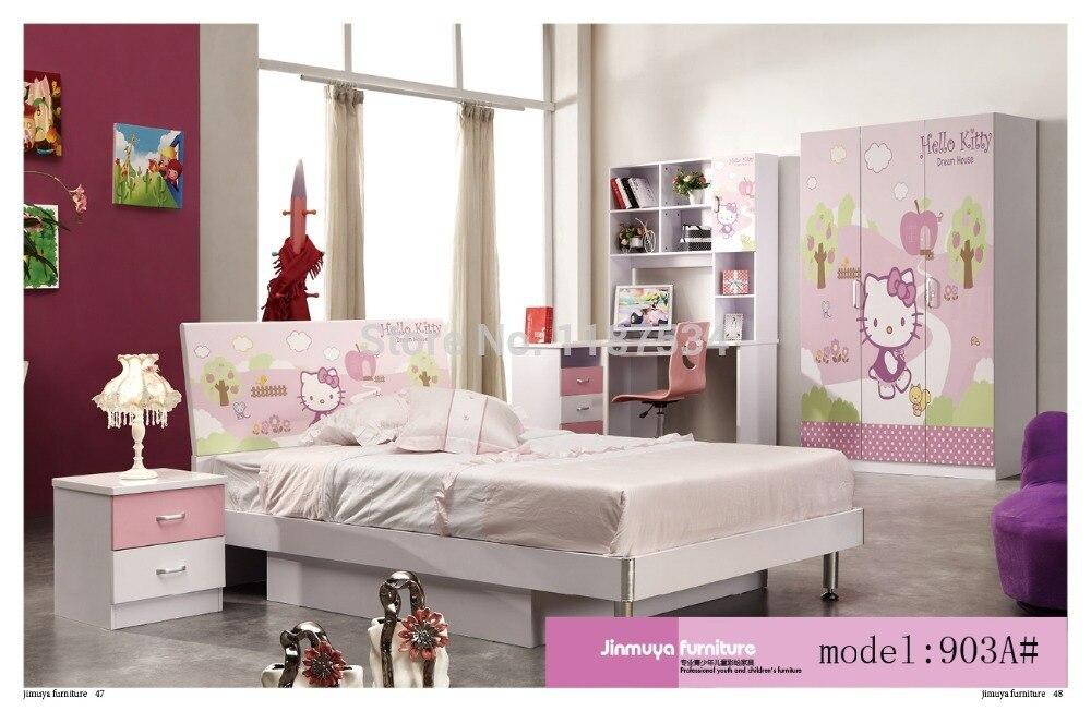 Bedroom Home Furniture Bed Wardrobe Desk Nightstand Swivel