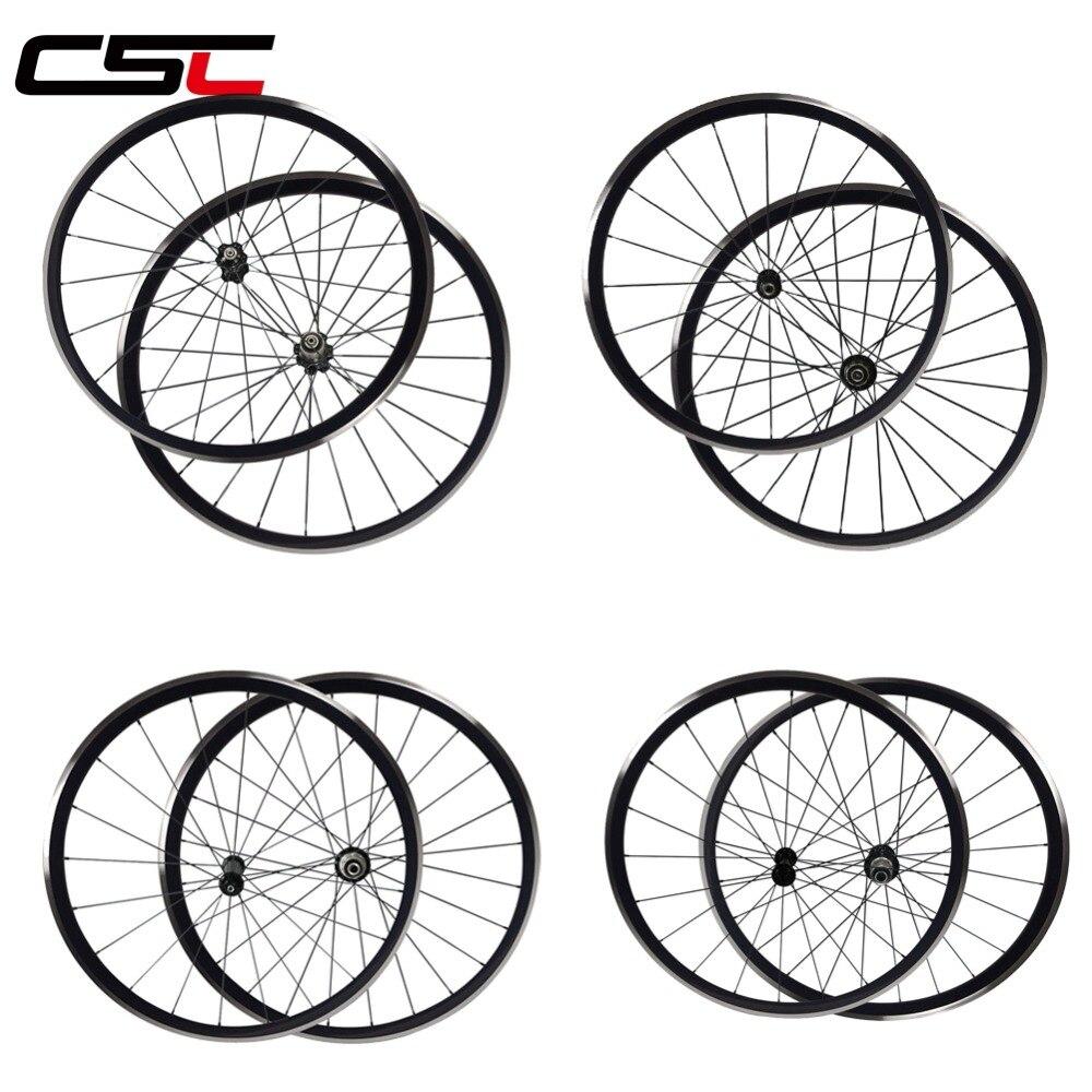 Alloy Bike Wheels With Road Aero Spokes Novatec Hub R13 R36 Hub KINLIN XR300 Aluminium Bicycle Wheelset