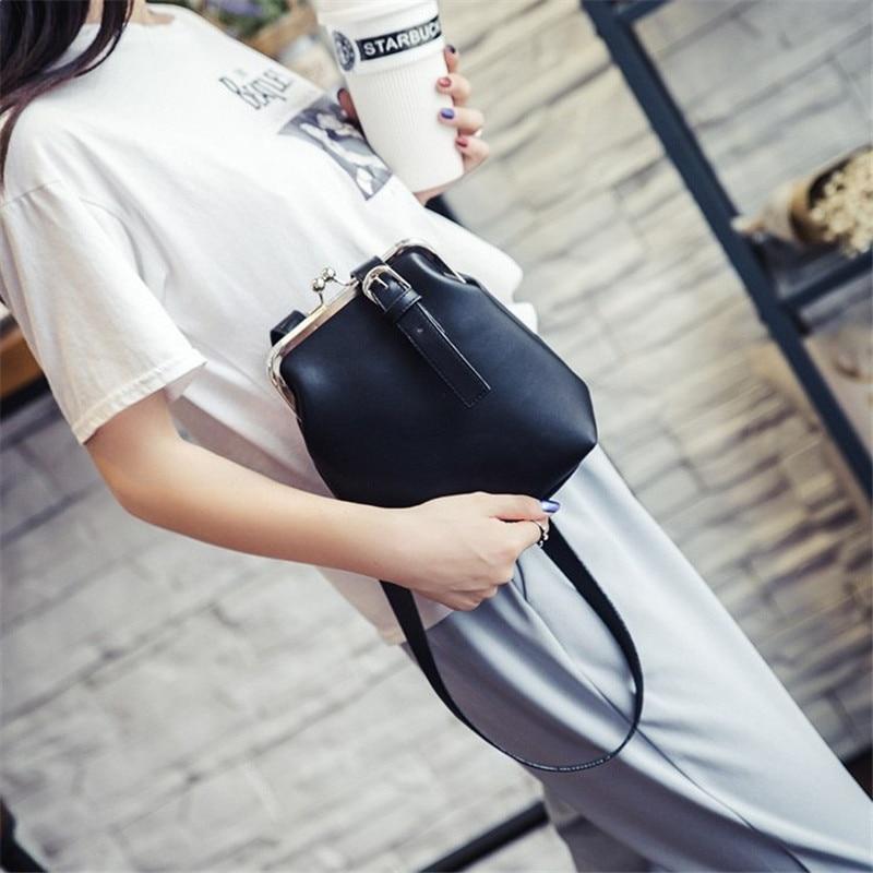 YBYT marca 2017 nuevo de la vendimia ocasional de LA PU de cuero bolsas de cubo