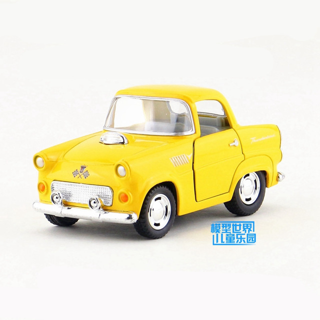 US $11 05  Free Shipping/KiNSMART Toy/Diecast Model/Q Type/1955 Ford  Thunderbird/Pull Back Car/Educational Collection/Gift For Children-in  Diecasts &