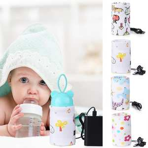 Insulated-Bag Heater Warmer Milk Food-Feeding Nursing-Bottle Travel Baby Portable USB