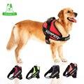 KIMHOME 4 Colores Solid Sport Ajustable Collar de Perro En El Pecho Correas de Tracción de Nylon Almohadillas de Entrenamiento del Perro Grande Arnés Chaleco