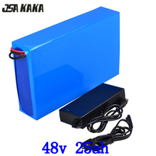 48V lithium battery 48v 25ah electric bike battery 48V 25AH lithium ion battery with 54.6V 2A charger for 48V 500W 1000W motor 48v sanyo ga battery pack 17 5ah electric bike lithium ion battery for 1000w