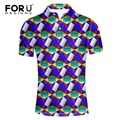FORUDESIGNS High Quality Brand Men Polo Shirt New Summer Casual Solid Color Cotton Men's Polos Short Sleeve Polo Ralp Man Camisa