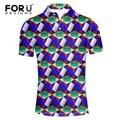 FORUDESIGNS High Quality Brand Men Polo Shirt New Summer Casual Solid Color Cotton Men's Polos Short Sleeve Polo Ralp Man Camisa