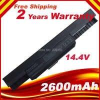 14.4 V batterie d'ordinateur portable A32-K53 pour ASUS A43E A53S K43E K43U K43S X54 X54H K43SJ X54C X84 K53S K53 K53SV K53T K53E K53SD X44H