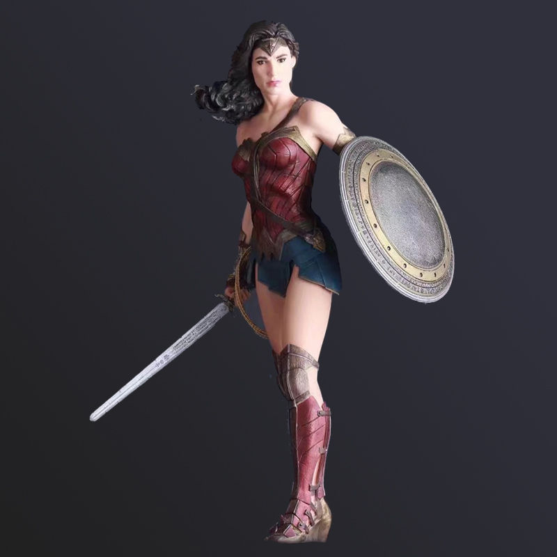 12 DC Wonder Woman Figures Justice League Comic Movie Action Figure Anime Doll Toy Collectible Model Toy for Children Kids Gift 1 6 scale figure doll troy greece general achilles brad pitt 12 action figures doll collectible figure plastic model toys