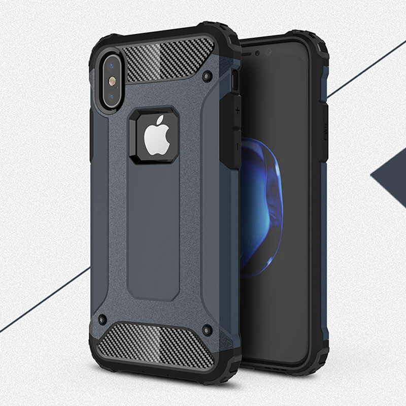 1000pcs Rugged Soft Back Cover For iPhone XS Max X XR 8 Plus 7 6 5S