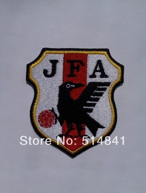 free shipping!New!2014 Brazil World Cup Japan national logo Computer  embroidery mark 233f077fb