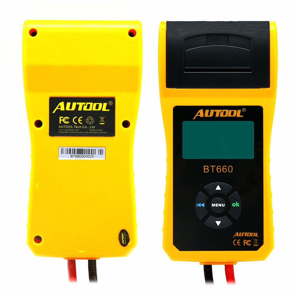 Image 4 - AUTOOL Car Battery Tester Analyzer With Printer 12V Digital Repair Workshop Auto Battery CCA Portable Diagnosis Tool Free Paper-in Battery Measurement Units from Automobiles & Motorcycles on