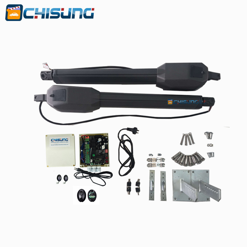 CSSGO-07 Automatic gate opener kit for swing door gate with remote controller