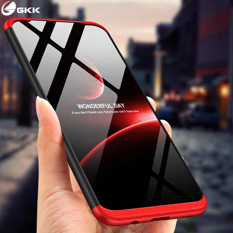 Gkk 3 In 1 Case For Samsung Galaxy M20 M10 M30 A10 A30 A50 A80 Case Matte Anti Knock Protection Slim Cover Phone Accessories Fitted Cases Aliexpress