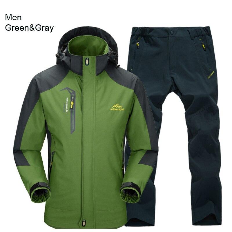men green gray