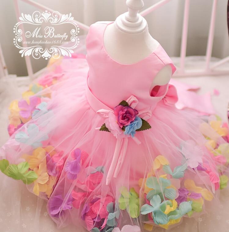 2018 Muchachas de Flor Vestidos Brand New Baby Kids Costume Tutu ...