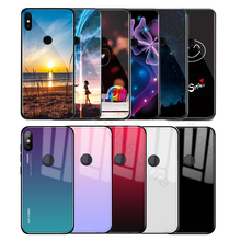 hot deal buy gradient tempered glass phone case for xiaomi a1 a2lite mi mix 2s 8 lite redmi 6 pro 6a 5plus cover pocophone f1 f 1 back shell