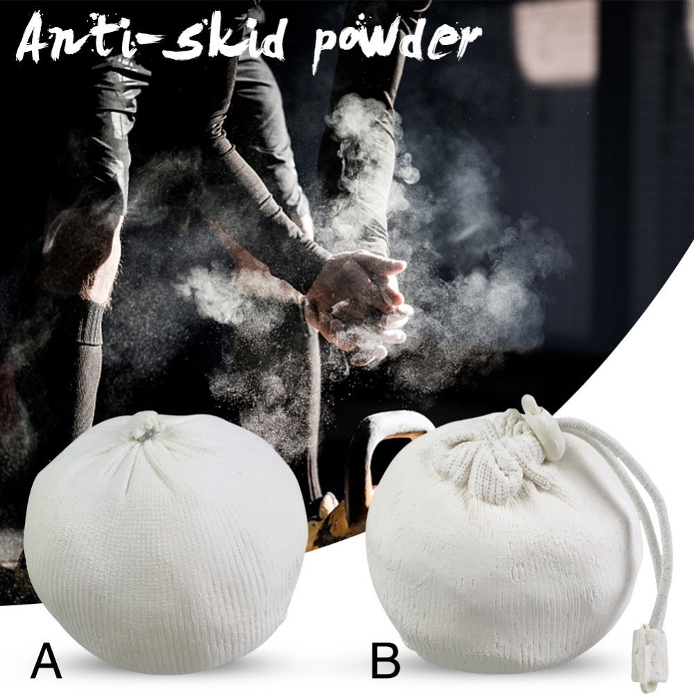 Weightlifting Anti-skid Powder Gymnastics Climbing Powerlifting Powders Gym Chalk Magnesium Powder Ball Fitness Accessory