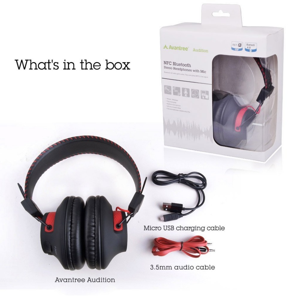 c7b1d9788d4 Pls contact us before you leave Neutral or Negative feedback About Avantree  DEEP BASS Bluetooth Over Ear Headphones ...