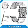 20mm 22mm 24mm Milanese Watch Band for Hamilton Stainless Steel Watchband Replacement Strap Wrist Belt Bracelet Black Silver
