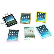 1Pcs 1/12 Dollhouse Miniature Accessories Mini Metal Tablet