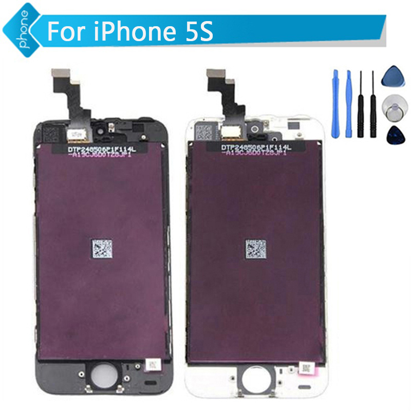 Iphone 5c Black LCD Digitizer Screen Assembly Digi w// Took Kit /& Tempered Glass