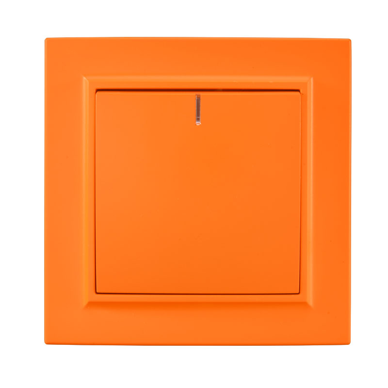 Wall Accent Lighting With Switch: Light Switch One Gang Switch With Indicater European