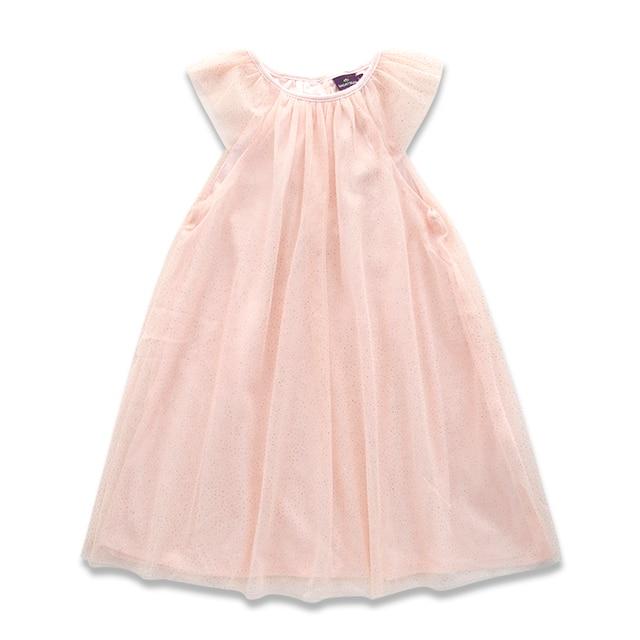 Kleid rosa gold