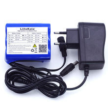 Liitokala 12V 4.4 Ah 4400mah 18650 rechargeable battery 12V + PCB lithium battery pack protection board +12.6V 1A Charger