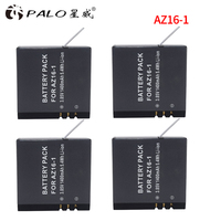 4x 1400mah AZ16 1 Xiao Mi Yi 2 4K Yi Lite Batteries For XiaoYi 2 4K
