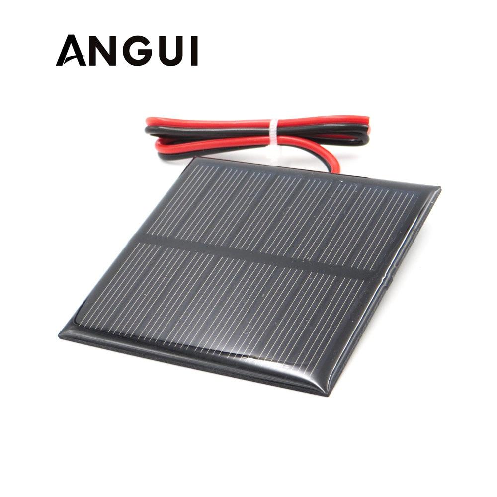 3v 3 5v 4v Solar Panel With 30cm Wire Mini Solar System