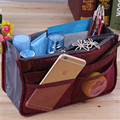 13 Colors Make up Organizer Bag Women Men Casual travel bag multi functional Cosmetic Bag storage bag in bag Handbag