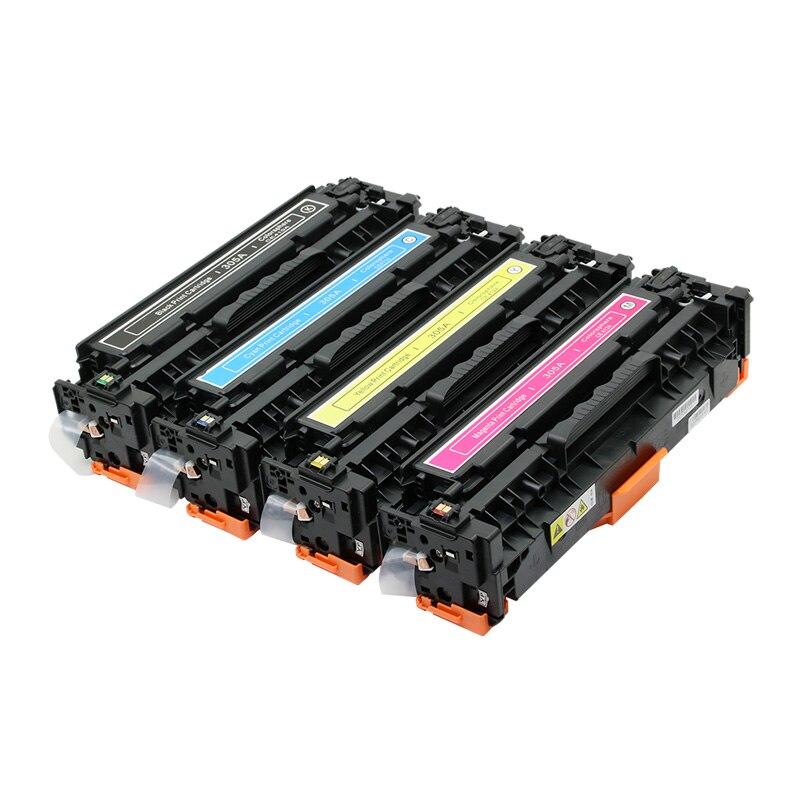 Cartouche de Toner à haut rendement 410A 410X CF410A CF410X Compatible pour HP Color LaserJet Pro M452dn/M477fdw