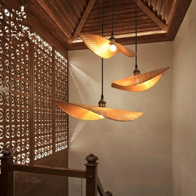 New Chinese Zen Teahouse Chandelier Antique Japanese Thailand Wooden Lustre Pendant Lamp Chinese Modern Bamboo Lighting FixturesNew Chinese Zen Teahouse Chandelier Antique Japanese Thailand Wooden Lustre Pendant Lamp Chinese Modern Bamboo Lighting Fixtures