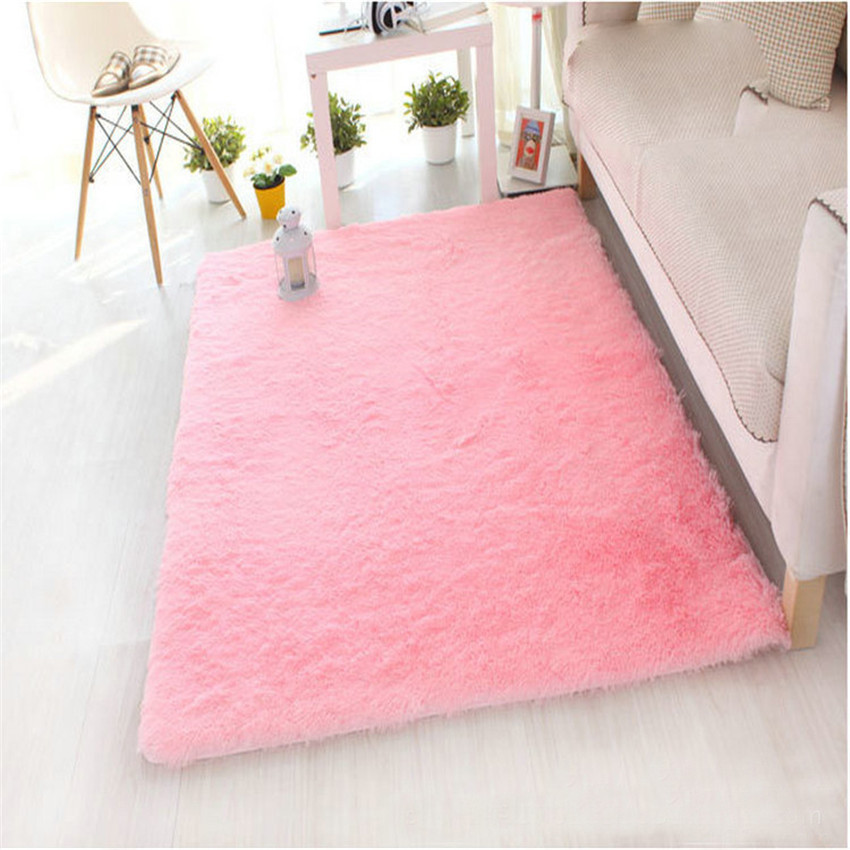 Cotton Carpet Living Room Dining Bedroom Area Rugs Anti: Aliexpress.com : Buy Ouneed Soft Fluffy Rugs Anti Skid