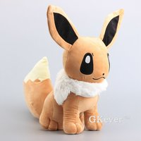 Big Size 45 cm Pikachu Eevee Peluche Toys Eevee Stuffed Soft Dolls Kids Gift