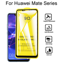 9D HD Protective Glass For huawei Mate 10 20 Lite Pro Glass Full Cover For huawei Mate 9 Lite Tempered Glass Screen Protector full cover 9d tempered glass for huawei mate 30 pro mate 30 protective screen protector film