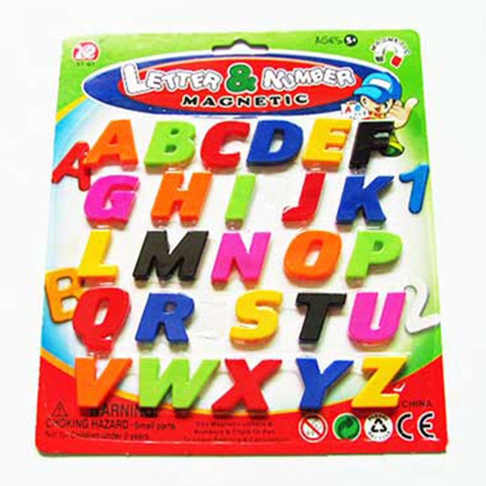 1 ШТ. Магнитные Буквы алфавита Математика Количество Магниты На Холодильник Обучающие Игрушки Подарок