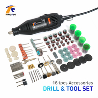Free Shipping Electric Dremel Grinder Tools 161 Pc Kit Mini Die Grinding Tools Factory Price