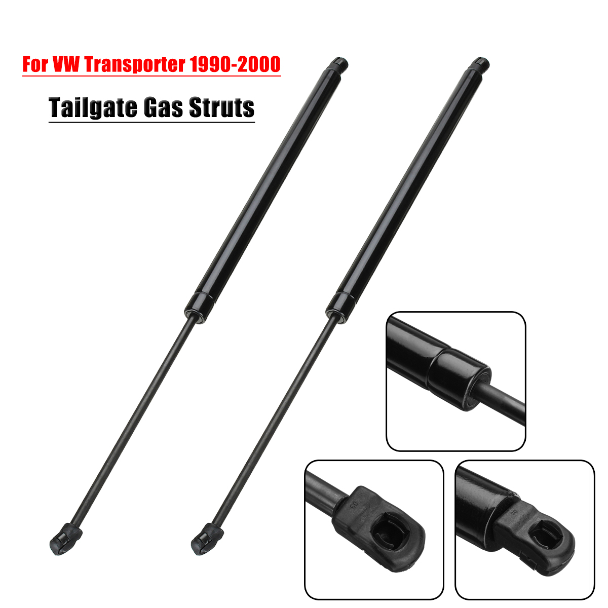 2x Car Rear Tailgate Lift Trunk Support Rod Gas Struts 970N for Volkswagen VW Transporter T4 Transporter MK IV 1990-2003 free shipping 2 pcs lot rear trunk gas lift supports sturts car gas springs shocks for vw sedan only volkswagen passat audi a4