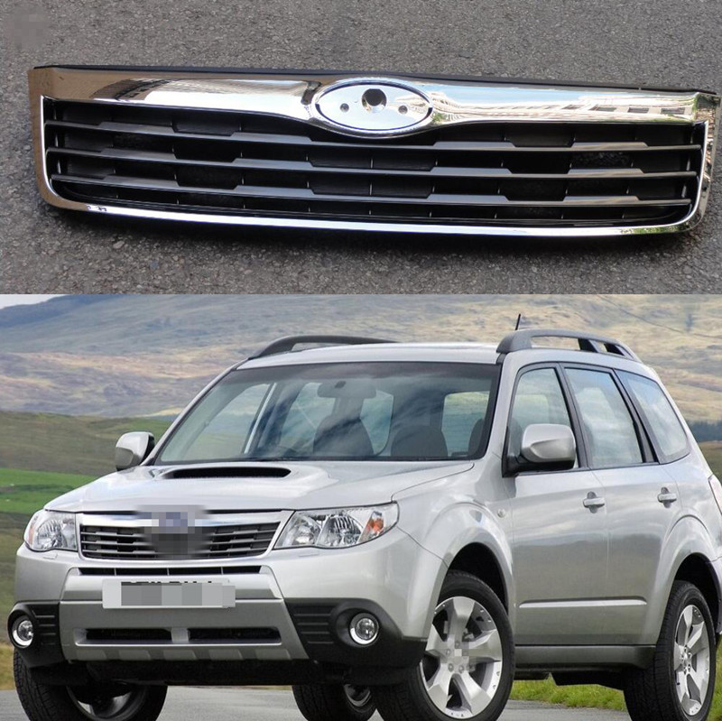 Aliexpress Com Buy Chrome Front Upper Grill Grille For: 1 PC Chrome Front Bumper Upper Radiator Grille Grill