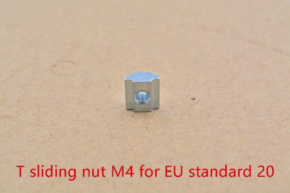 T sliding nut block M4 slide