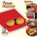 Neue Rot Waschbar Kartoffel Tasche Kartoffel Express Backen Werkzeug Containable 4 Kartoffeln Mikrowelle Einfach zu Kochen Werkzeug Küche Zubehör