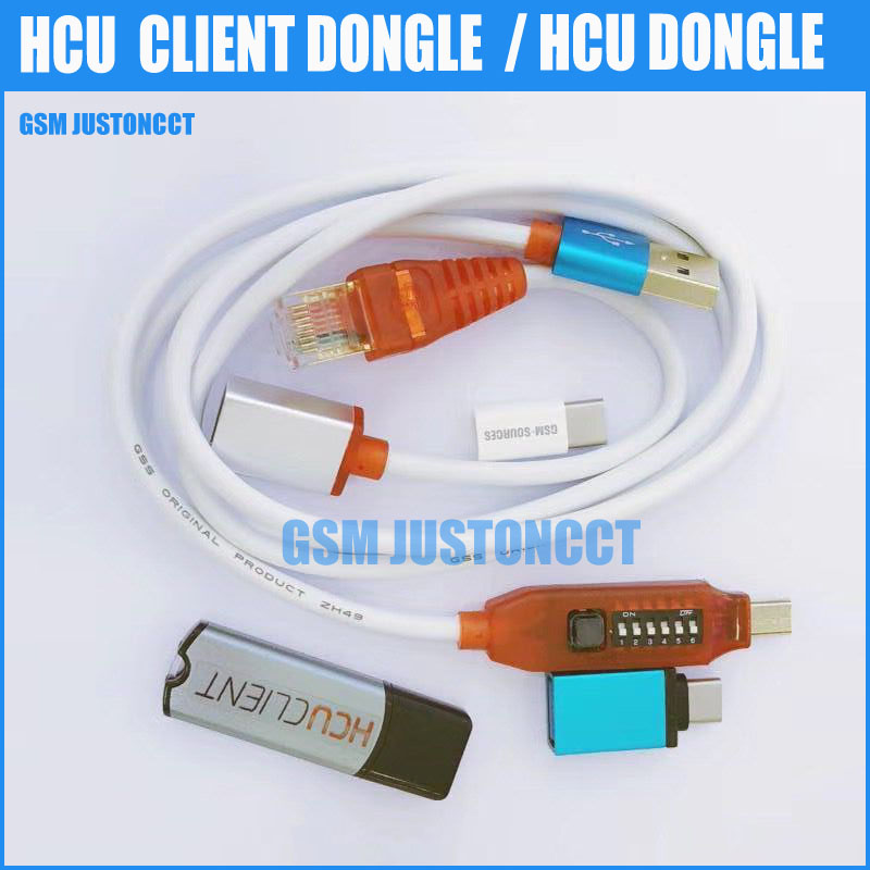 HCU Dongle HCU Client +DC Phoenix And Phone Converter For Huawei +Micro USB RJ45 Multifunction Boot All In 1 Cable